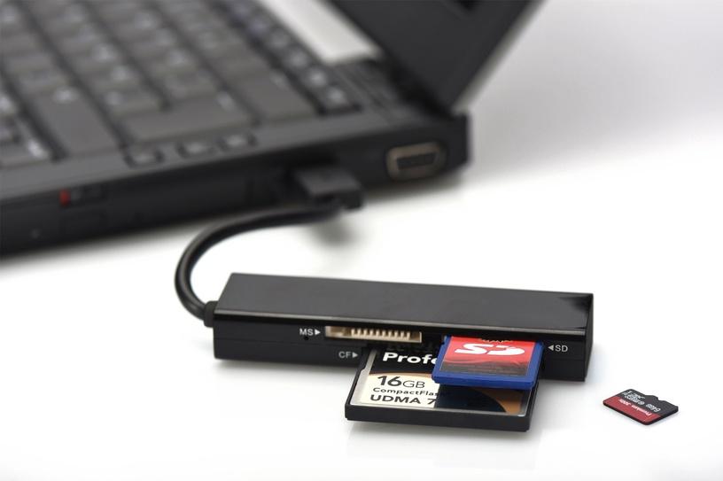 Картридер Ednet 85240 Multi USB 3.0 Card Reader