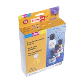 ActiveJet Ink Cartridge UK-2 3x30ml+1x30 Cyan/Magenta/Yellow