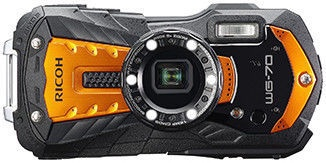 Ricoh WG-70 Action Camera Orange