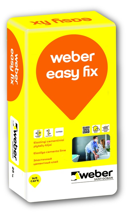 Weber Easy Fix, 25 kg