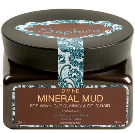 Saphira Moisturizing Mineral Mask Mud For Hair 250ml