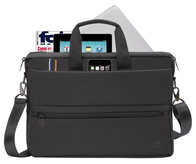 "Rivacase Laptop Bag for 15.6"" Black"