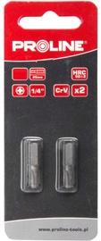 Proline PH1x25mm Bits 1/4'' 2pcs