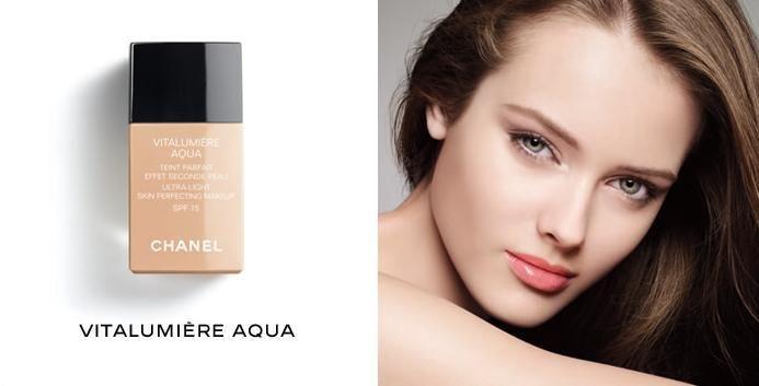 Chanel Vitalumiere Aqua Fluid Ultra-Light Makeup SPF15 30ml 40