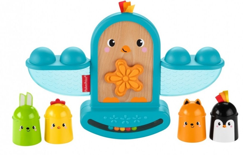 Fisher Price Stack And Rattle Birdie GJW26