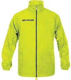 Givova Basico Rain Jacket Yellow Fluo M