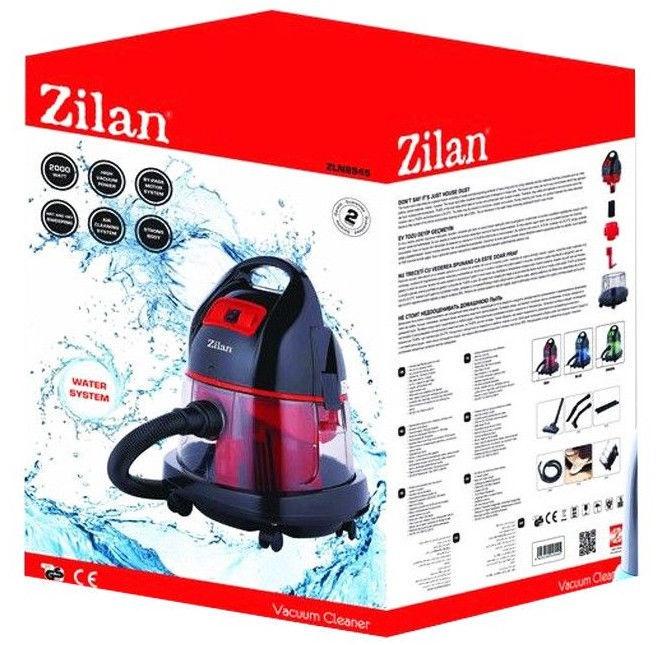 Putekļsūcējs ar ūdens filtru Zilan ZLN8945 Red/Black