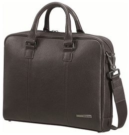 "Samsonite Equinox Briefcase 14.1"" Brown"