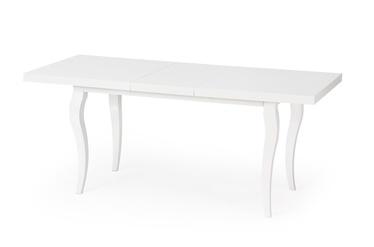 Pusdienu galds Halmar Mozart White, 1600 - 2400x900x750 mm
