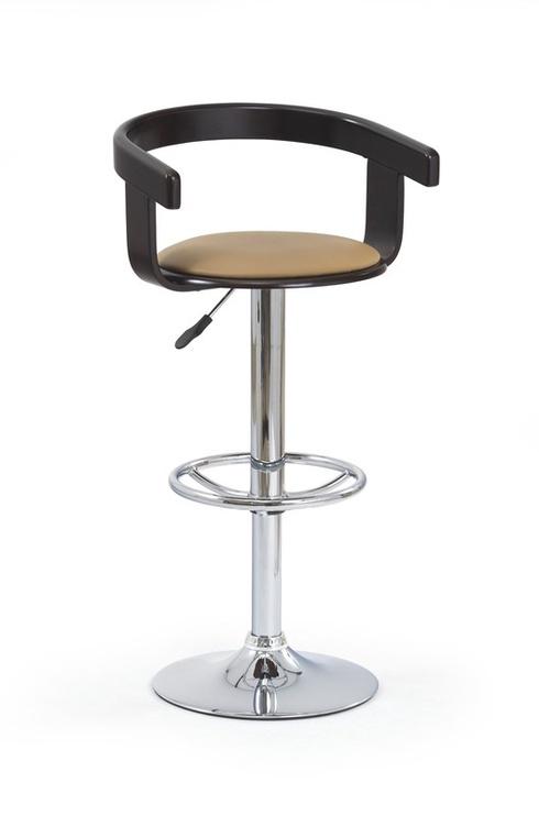 Baro kėdė H8, juoda/kavos