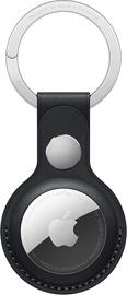 Аксессуары для AirTag Apple Leather Key Ring - Midnight, черный
