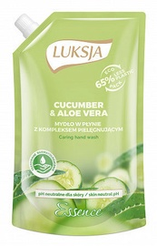 Luksja Essence Cucumber & Aloe Vera Caring Hand Wash Refill 400ml
