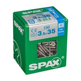 SKRŪVES KOKA A2 3,5X35 TX 150 GAB (SPAX)