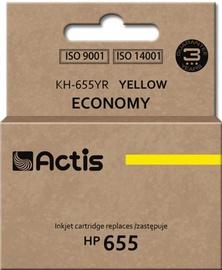 Actis Cartridge KH-655YR For HP 12ml Yellow
