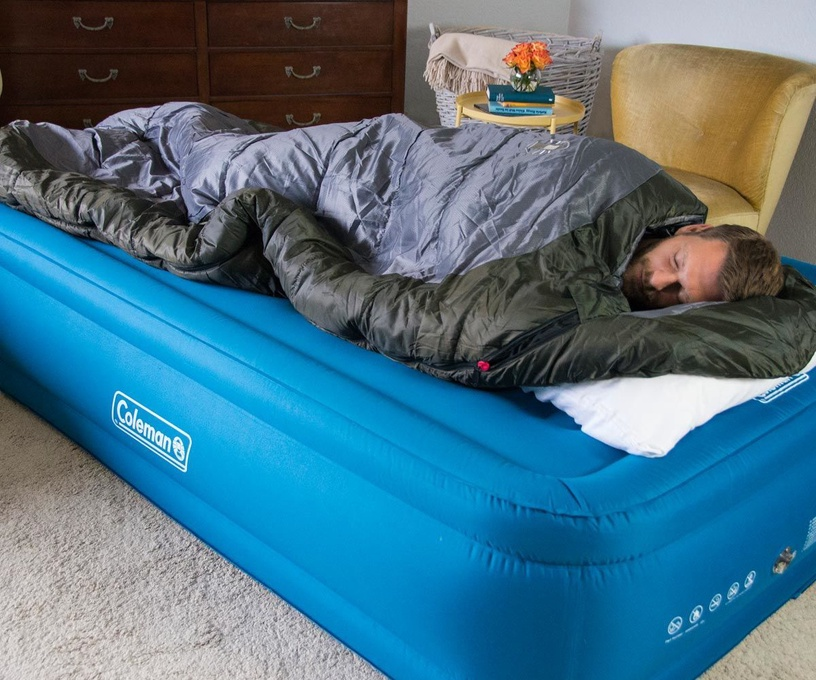 Coleman Extra Durable Raised Air Bed 137cm