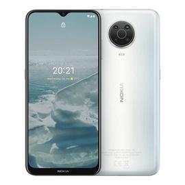 Мобильный телефон Nokia G20, серебристый, 4GB/64GB