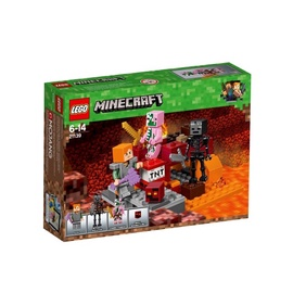 Konstruktorius LEGO Minecraft The Nether Fight 21139
