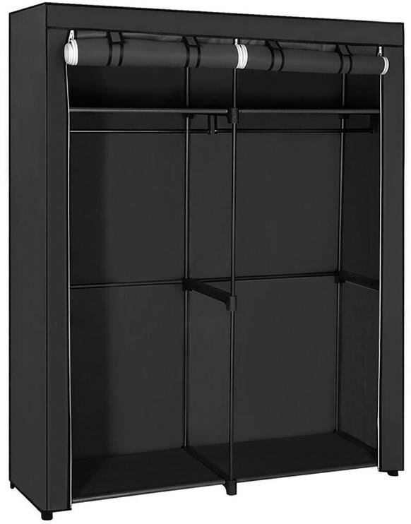 Skapis Songmics Black, 140x43x174 cm