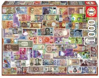 Educa Borras Puzzle World Banknotes 1000pcs