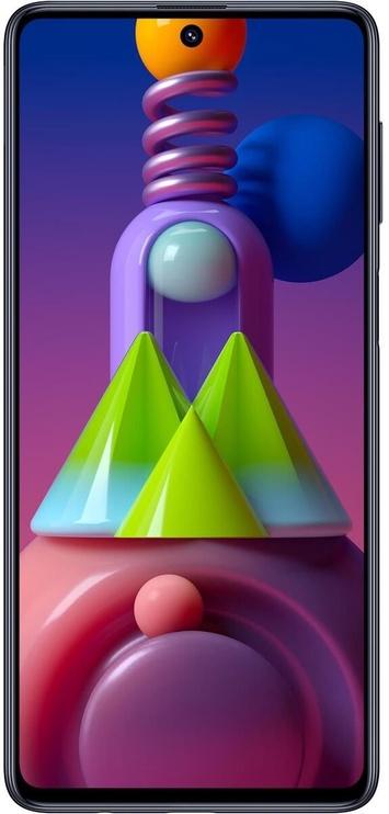 Mobilusis telefonas Samsung Galaxy M51 Black, 128 GB