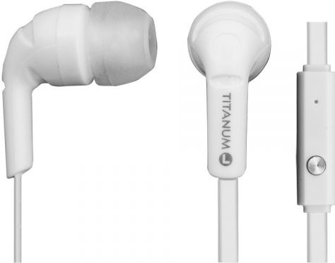 Ausinės Esperanza Titanum In-Ear Earphones White