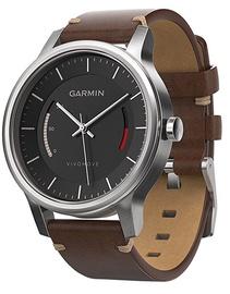 Garmin Vívomove Premium Leather Band Stainless Steel