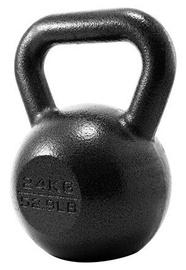 Giross ProIron Solid Cast Iron Kettlebell Black 24kg