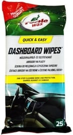 Turtle Wax Dashboard Wipes 25pcs