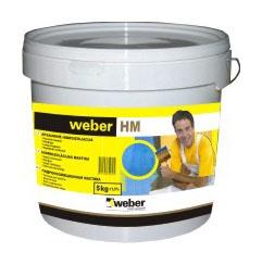 Apsauginė hidroizoliacinė mastika Weber HM, 5 kg