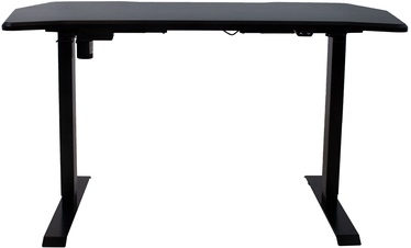 Home4you Gamer Electrically Adjustable Table Black