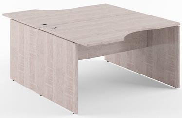 Skyland Xten X2CET 149.3/169.3 Double Desk Sonoma Oak