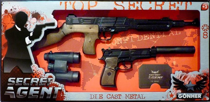 Rotaļlietu ierocis Gonher Secret Agent Set 239/6