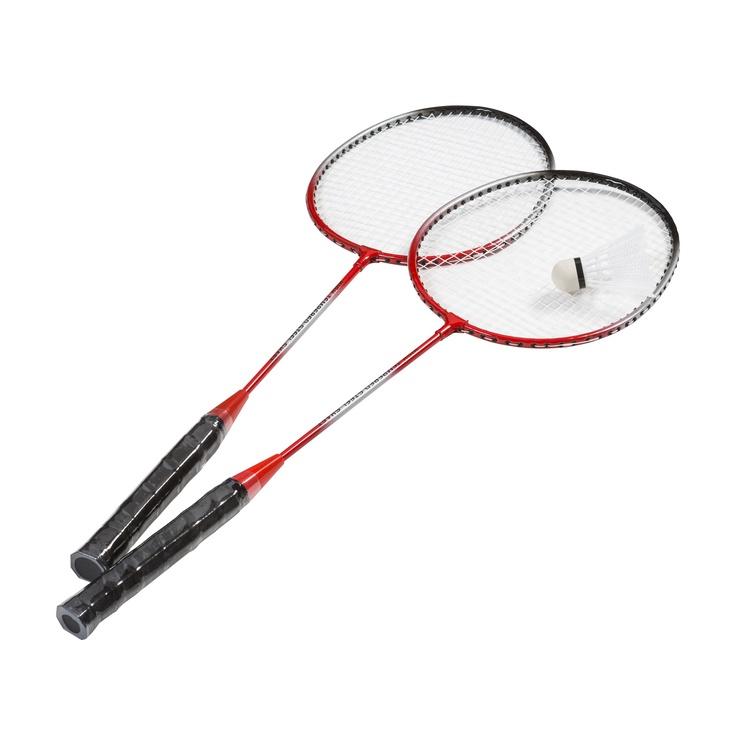 Badmintono rakečių komplektas su skraiduku W1112