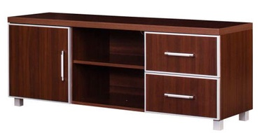 TV-laud Bodzio Bodziosystem BS03 Walnut, 1380x430x560 mm