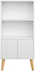 Skapis Songmics Bookcase White 60x30x120cm