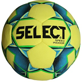Select Hala Speed Indoor Ball 16538 Yellow/Blue Size 5