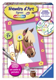 Ravensburger Painting By Numbers Horse 295180