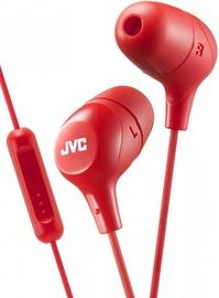 Ausinės JVC HA-FX38M Red