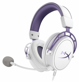 Kingston HyperX Cloud Alpha White Purple