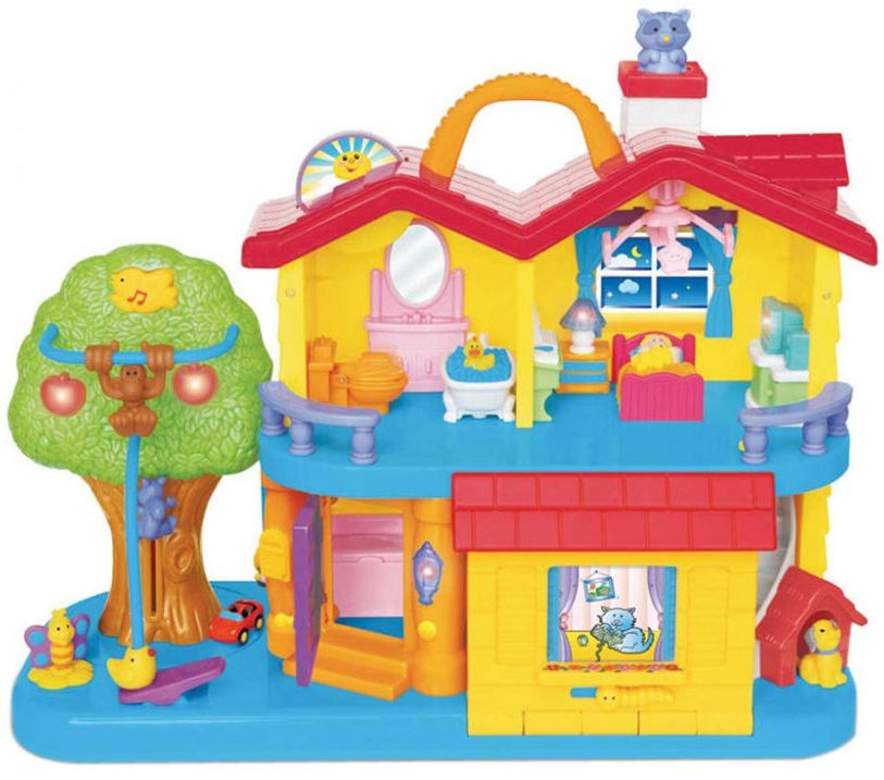 Kiddieland Busy Discovery Home 032730