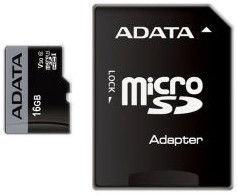 ADATA Premier Pro 16GB microSDHC UHS-I Class 10 + Adapter AUSDH16GUI3V30S-RA1