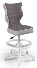 Детский стул Entelo Petit CR07, белый/фиолетовый, 300 мм x 895 мм