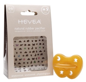 Hevea Star & Moon Anatomical Pacifier 0-3m