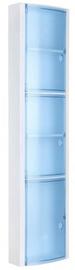 Tatay Vertical Bathroom Cabinet Blue