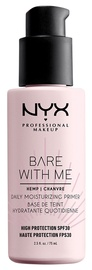 Корректор Nyx Bare With Me Hemp Daily Moisturizing Primer SPF30, 75 мл