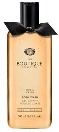 The English Bathing Company Boutique Body Wash 500ml Oud & Cassis