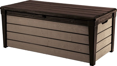 Keter Storage Box Brushwood 455L Brown