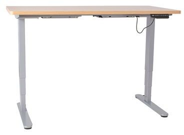 Home4you Ergo-2 Electric Adjustable Work/Standing Desk Oak/Gray