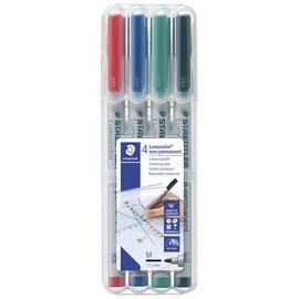 Marker Lumocolor M 1,0mm 4tk Staedtler