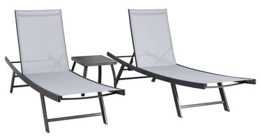 Home4you Ario Sunbathing Furniture Set Grey